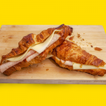 butter croizant sandwitch